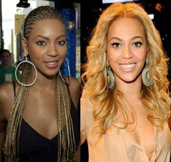 Beyoncé star américaine utilise du lait et crème éclaircissant
